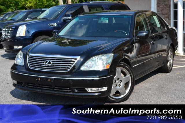 2006 Lexus LS 430 LS430 WNAVIGATIONCLEAN CARFAX CERTIFIEDBLACK ON BLACKCALL US NOW AT 866-2