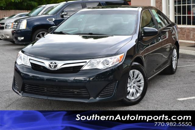 2012 Toyota Camry CAMRY LEONE OWNERCLEAN CARFAX CERITIFIED CALL US NOW AT 866-210-0391 TO DR