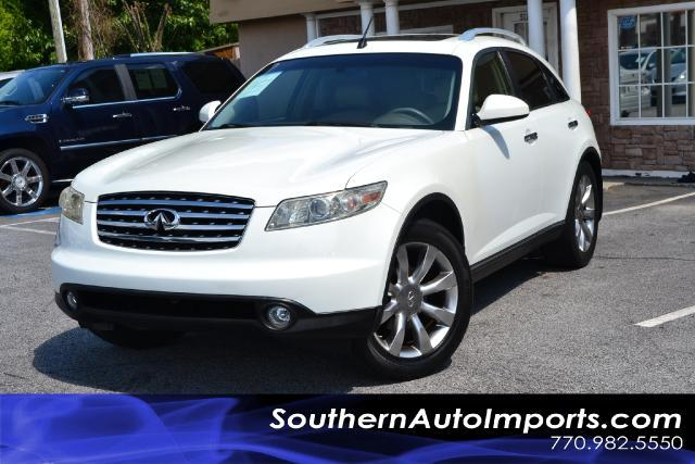 2004 Infiniti FX35  FX35  SPORT SUV  LOADED PLEASE CALL US AT 7709825550 TO SCHEDULE