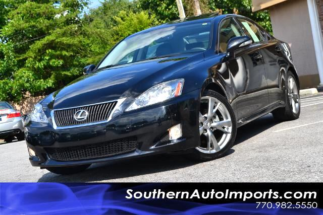 2010 Lexus IS IS250 WNAVIGATIONONE OWNERCLEAN CARFAX CERTIFIEDCALL US NOW AT 866-210-0391 T