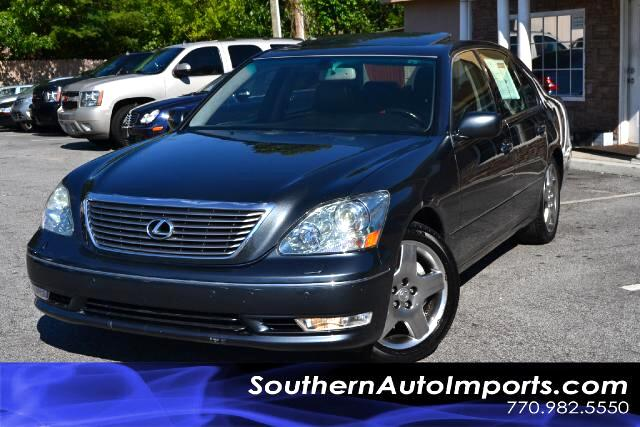 2005 Lexus LS 430 LS 430 PREMIUM WNAVIGATIONCLEAN CARFAX CERTIFIEDCALL US NOW AT 866-210-0391