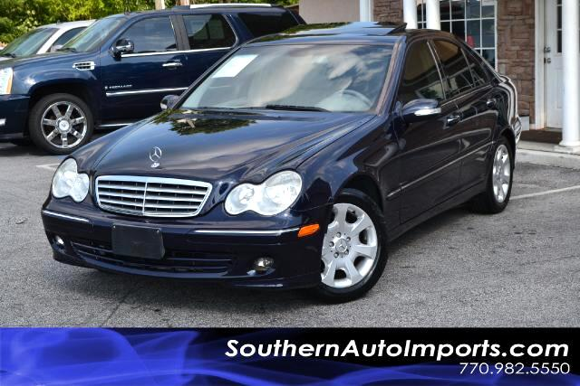 2006 Mercedes C-Class  C280 4MATIC PREMIUM W COLD WEATHER PKG CLEAN CARFAX CERTIFIED PLEASE C