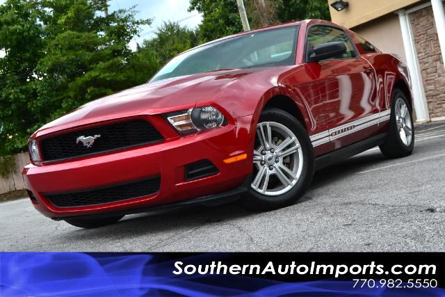 2010 Ford Mustang MUSTANG V6 COUPE5 SPEED MANUALCARFAX CERTIFIEDCALL US NOW AT 866-210-0391