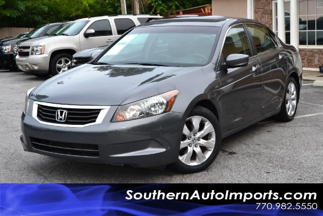 2008 Honda Accord EX-L MODELCLEAN CARFAX CERTIFIEDCALL US NOW AT 866-210-0391 TO DRIVE THIS VE