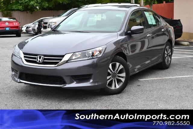 2013 Honda Accord LX SEDANONE OWNERCLEAN CARFAX CERTIFIEDCALL US NOW AT 866-210-0391 TO DRIV