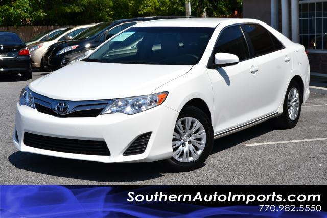 2012 Toyota Camry CAMRY LECLEAN CARFAX CERITIFIED CALL US NOW AT 866-210-0391 TO DRIVE THIS VE