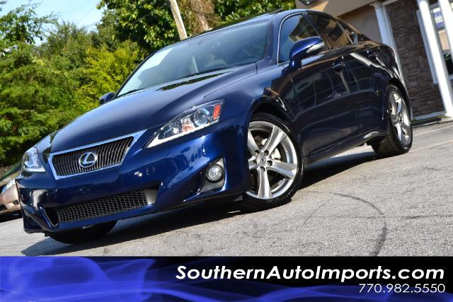 2011 Lexus IS 250 IS250 WNAVIGATIONONE OWNERCLEAN CARFAX CERTIFIEDLOOK AT THE MILES18KP