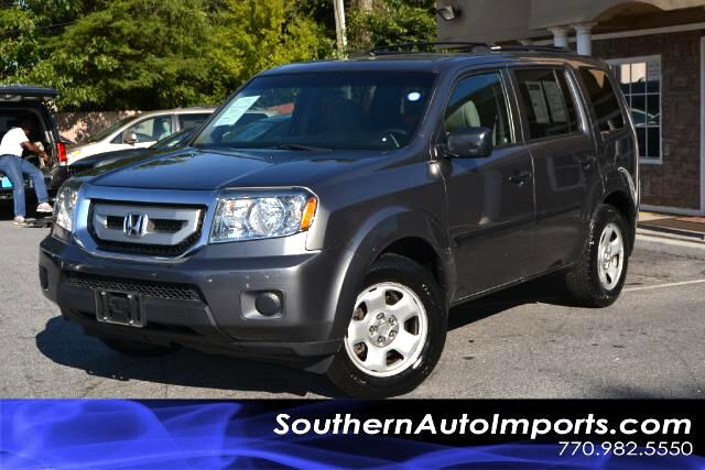 2011 Honda Pilot LX MODELONE OWNERPLEASE CALL US AT 866-210-0391 TO DRIVE THIS VEHICLE HOME TO