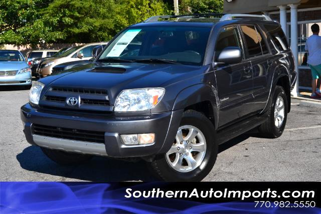 2005 Toyota 4Runner SR5 4RUNNERCLEAN CARFAX CERTIFIEDPLEASE CALL US AT 866-210-0391 TO DRIVE T