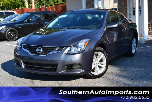 2011 Nissan Altima 25S COUPEONE OWNERCLEAN CARFAX CERTIFIEDPLEASE CALL US AT 866-210-0391 T
