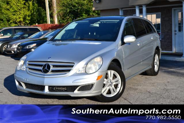 2006 Mercedes R-Class R500 4MATIC WNAVIGATIONCLEAN CARFAX CERTIFIEDPLEASE CALL US AT 866-210-