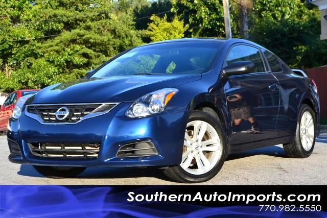 2011 Nissan Altima 25 S COUPEONE OWNERCLEAN CARFAX CERTIFIEDPLEASE CALL US AT 866-210-0391