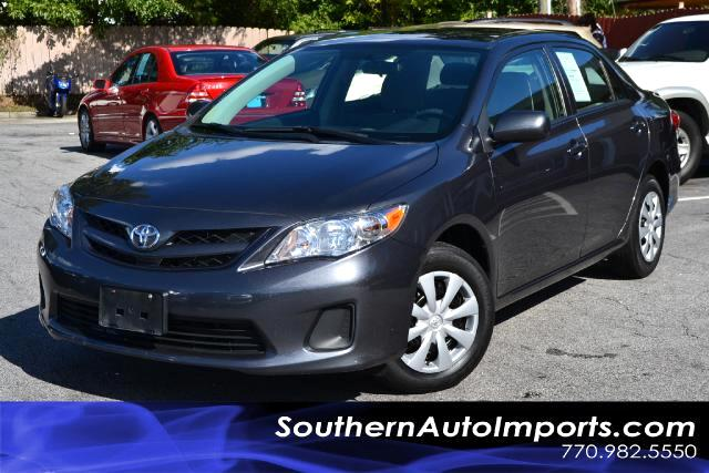 2011 Toyota Corolla LE MODELONE OWNERPLEASE CALL US AT 866-210-0391 TO DRIVE THIS VEHICLE HOME