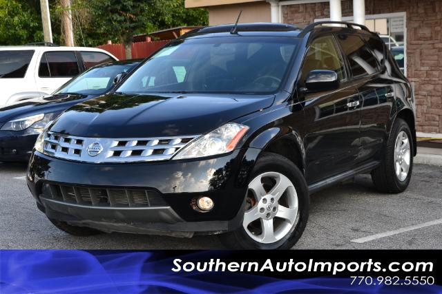 2004 Nissan Murano MURANO SL AWDCLEAN CARFAX CERTIFIEDPLEASE CALL US AT 866-210-0391 TO DRIVE