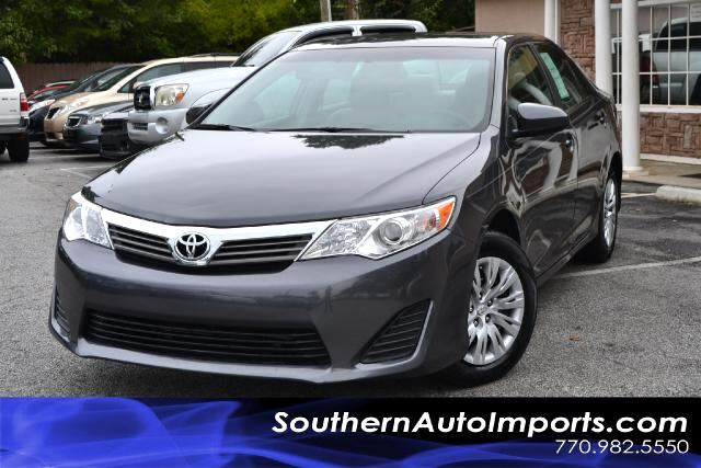 2012 Toyota Camry CAMRY LONE OWNERCLEAN CARFAX CERTIFIEDPLEASE CALL US AT 866-210-0391 TO DR
