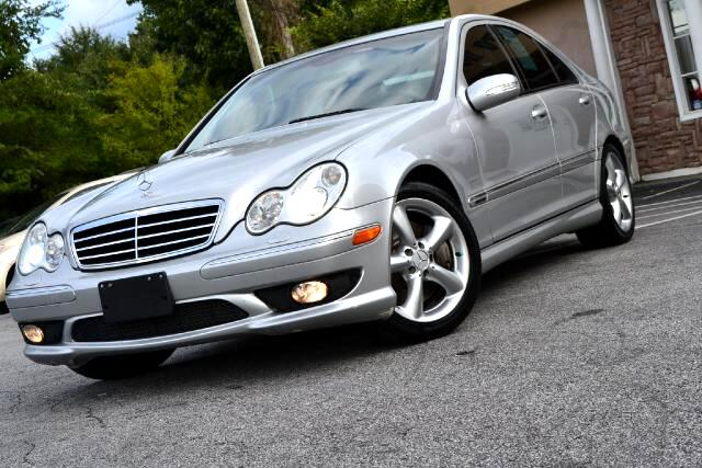 2005 Mercedes C-Class C230 KOMPRESSOR SPORT PKG CLEAN CARFAX CERTIFIED PLEASE CALL US AT 866-