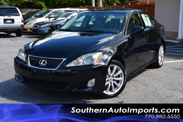 2008 Lexus IS 250 IS250 AWD WNAVIGATIONONE OWNERCLEAN CARFAX CERTIFIEDPLEASE CALL US AT 866