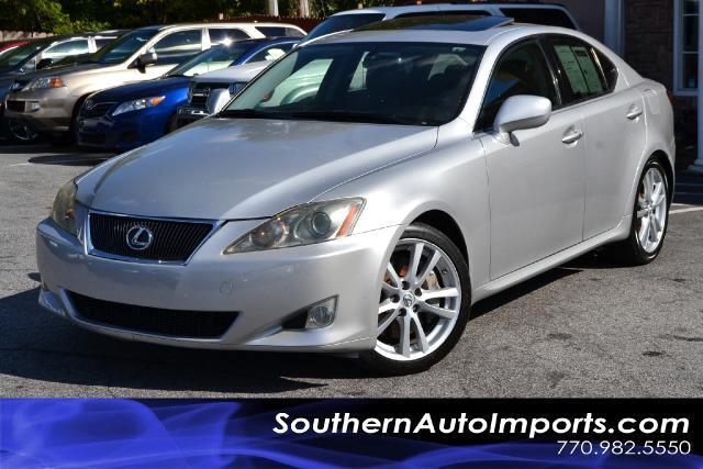 2006 Lexus IS IS350 WNAVIGATIONSUPER CLEANPLEASE CALL US AT 866-210-0391 TO DRIVE THIS VEHICL