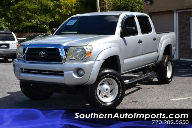 2007 Toyota Tacoma TACOMA SR5 4X4 HARD TO FIND PLEASE CALL US AT 7709825550 TO COME TEST DRIVE
