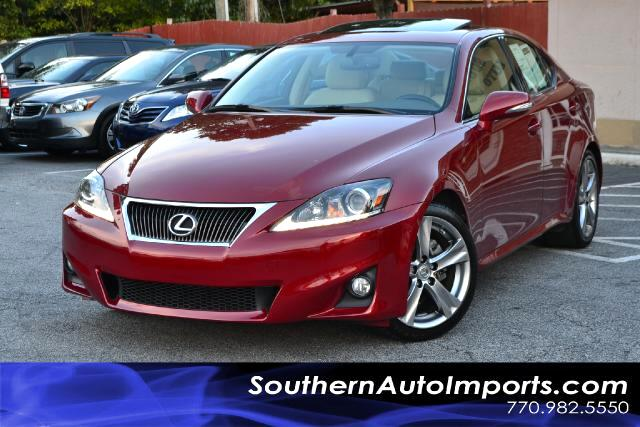 2011 Lexus IS 250 IS250 WNAVIGATIONONE OWNERCLEAN CARFAX CERTIFIEDPLEASE CALL US AT 866-210