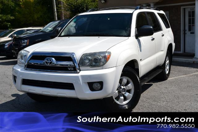 2006 Toyota 4Runner SR5 4RUNNERWHITE ON BEIGE INTERIORSUPER CLEANPLEASE CALL US AT 866-210-0
