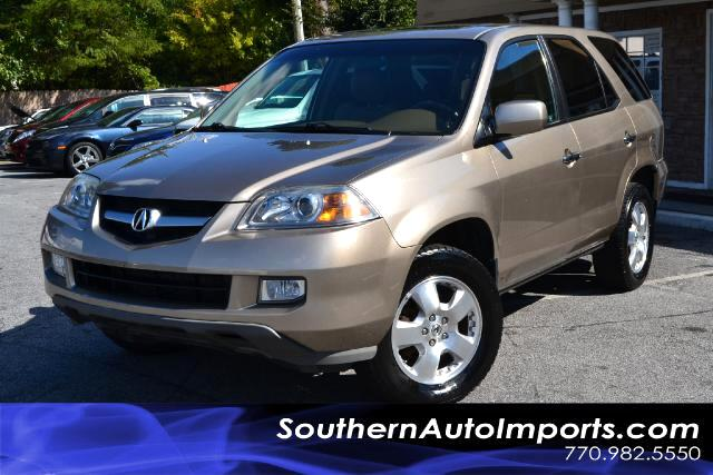 2006 Acura MDX MDX PREMIUMONE OWNERCLEAN CARFAX CERTIFIEDPLEASE CALL US AT 866-210-0391 TO D