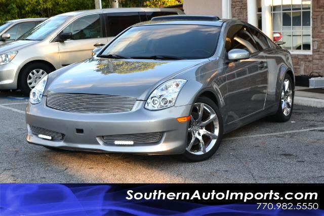 2005 Infiniti G35 G35 COUPECLEAN CARFAX CERTIFIEDFRESH TRADEPLEASE CALL US AT 866-210-0391 T