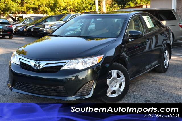 2012 Toyota Camry LE MODELONE OWNERCLEAN CARFAX CERTIFIEDPLEASE CALL US AT 866-210-0391 TO D