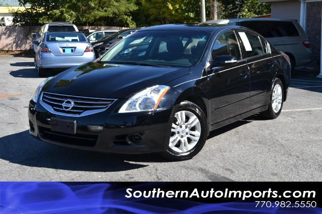 2011 Nissan Altima ALTIMA 25S WCONVENIENCE PLUS PACKAGEONE OWNERCLEAN CARFAX CERTIFIEDPLEA