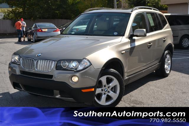 2008 BMW X3 X3si WPANORAMIC SUNROOFCLEAN CARFAX CERTIFIEDPLEASE CALL US AT 866-210-0391 TO DR