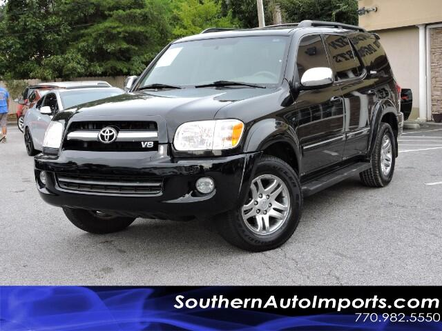 used 2007 toyota sequoia for sale in stone mountain ga 30087 southern auto imports. Black Bedroom Furniture Sets. Home Design Ideas
