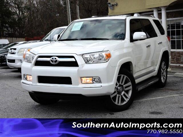 used 2013 toyota 4runner limited 4wd navigation camera bluetooth for sale in stone mountain ga. Black Bedroom Furniture Sets. Home Design Ideas