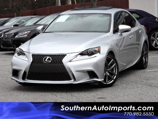 2014 Lexus IS 250 IS 250 F- SPORT PACKAGE RED INTERIOR 1OWNER