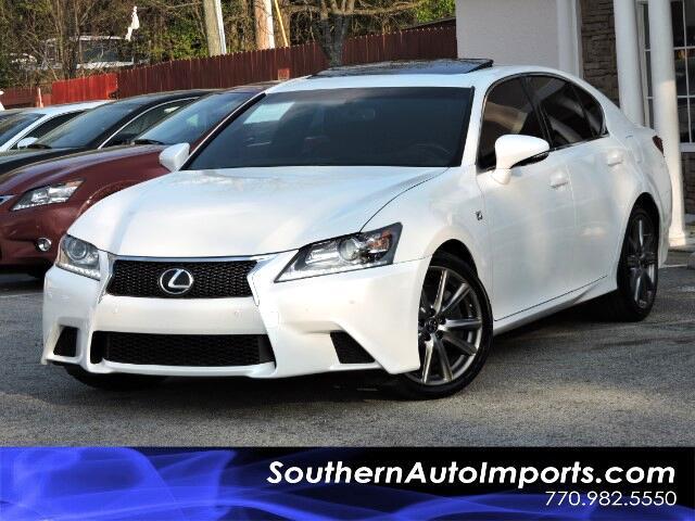 2013 Lexus GS 350 F Sport w/ Navigation Camera Bluetooth LED