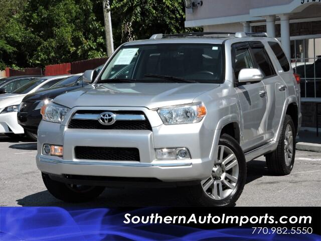 2011 Toyota 4Runner Limited 4x4 w/ Navigation Camera Bluetooth Sunroof