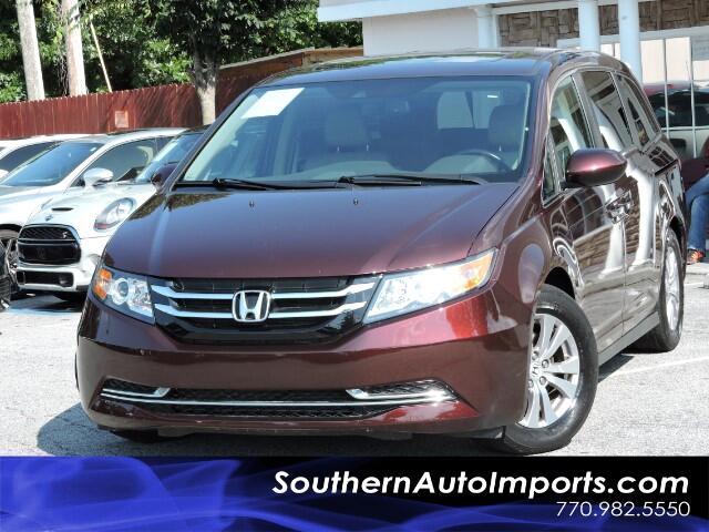 2014 Honda Odyssey EX-L w/ Dual Screens Camera Bluetooth Pwr Doors n