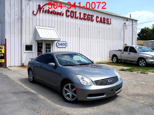 2006 Infiniti G35 Visit Nicholsons College Cars online at wwwnicholsoncarscom to see more picture