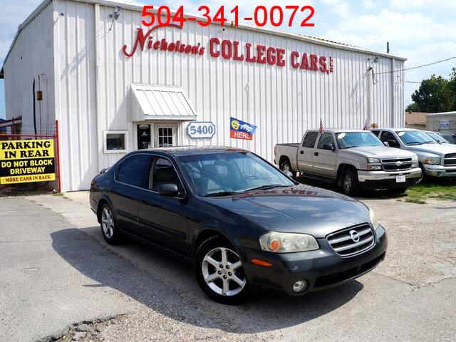 2003 Nissan Maxima Visit Nicholsons College Cars online at wwwnicholsoncarscom to see more pictur