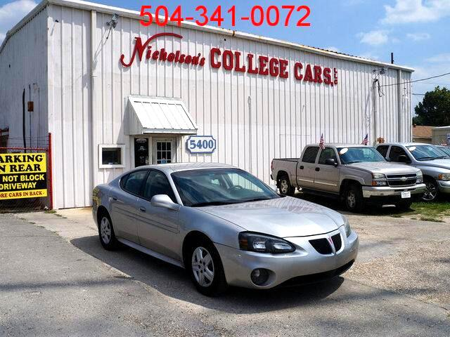 2006 Pontiac Grand Prix Visit Nicholsons College Cars online at wwwnicholsoncarscom to see more p