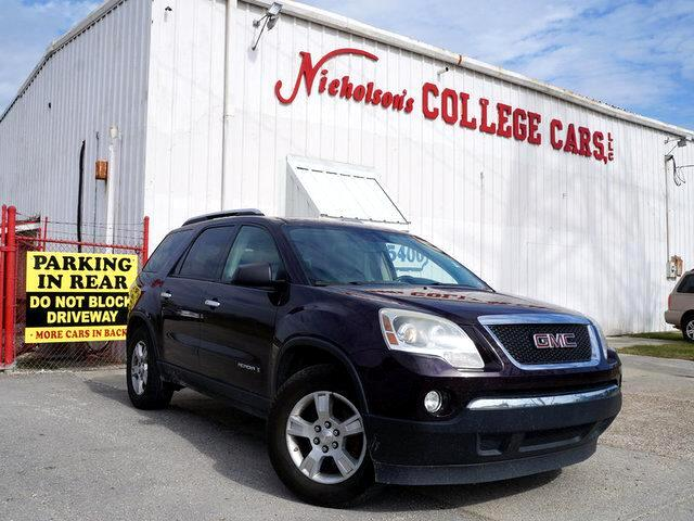 2008 GMC Acadia Visit Nicholsons College Cars online at wwwnicholsoncarscom to see more pictures
