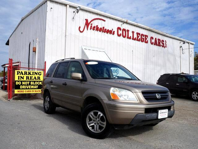 2003 Honda Pilot Visit Nicholsons College Cars online at wwwnicholsoncarscom to see more pictures