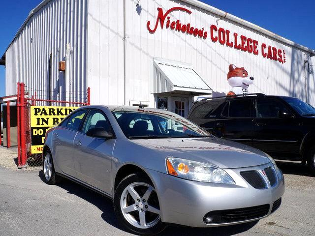 2008 Pontiac G6 Visit Nicholsons College Cars online at wwwnicholsoncarscom to see more pictures