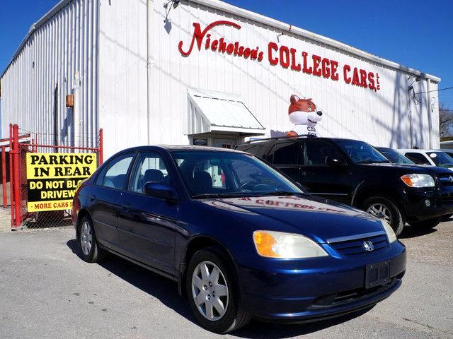 2001 Honda Civic Visit Nicholsons College Cars online at wwwnicholsoncarscom to see more pictures