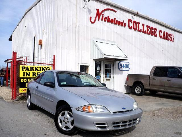 2001 Chevrolet Cavalier Visit Nicholsons College Cars online at wwwnicholsoncarscom to see more p