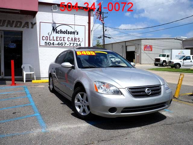 2004 Nissan Altima Visit Nicholsons College Cars online at wwwnicholsoncarscom to see more pictur