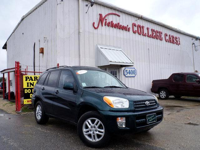 2002 Toyota RAV4 Visit Nicholsons College Cars online at wwwnicholsoncarscom to see more pictures