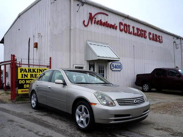 2003 Infiniti G35 Visit Nicholsons College Cars online at wwwnicholsoncarscom to see more picture