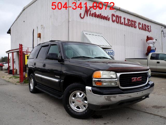2002 GMC Yukon Visit Nicholsons College Cars online at wwwnicholsoncarscom to see more pictures o