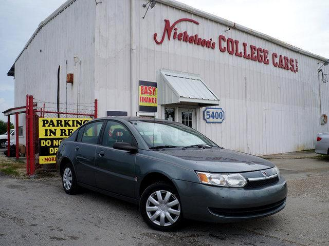 2004 Saturn ION Visit Nicholsons College Cars online at wwwnicholsoncarscom to see more pictures