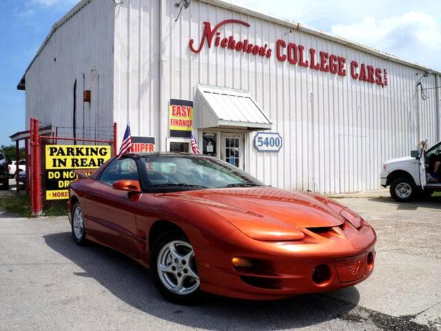 2002 Pontiac Firebird Visit Nicholsons College Cars online at wwwnicholsoncarscom to see more pic